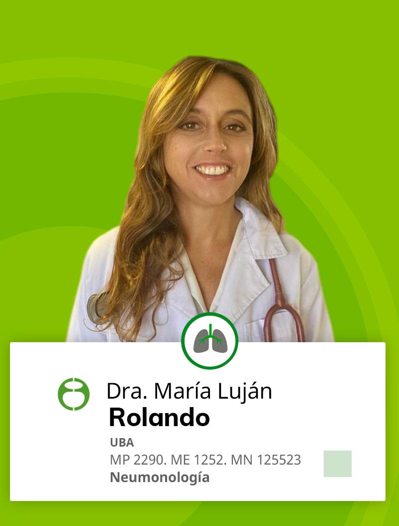 Maria Luján Rolando Neumonologia Fundacion Faerac